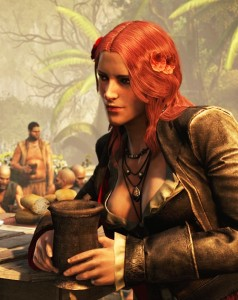 Anne Bonny plays a large role