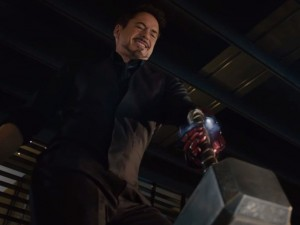 The villainous Tony Stark