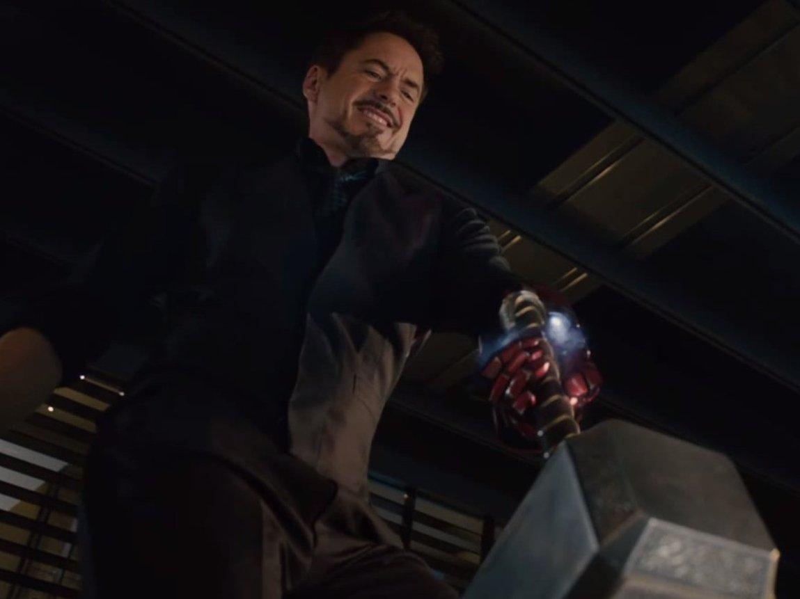 The villainous Tony Stark